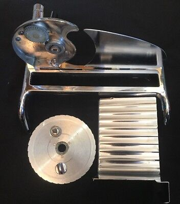 vintage chrome rival hand crank manual food cheese meat slicer rh picclick com rival food slicer 1101e 4 manual rival food slicer manual.pdf