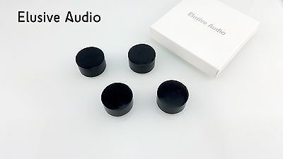 Audio Grade Sorbothane Isolation Feet 38mm x 20mm   (Pack of 4)