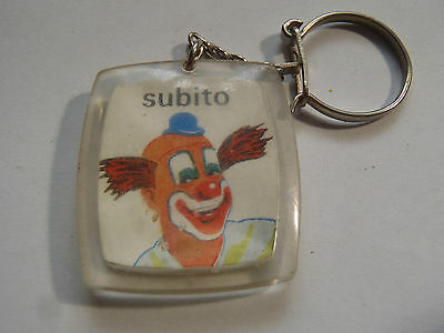 Ancien Porte Cles Chocolat Menier Clown Subito Paris Ix°