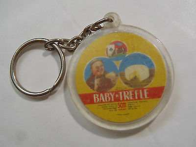 Ancien porte clés BABY TREFLE FROMAGE