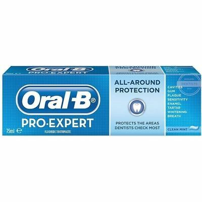 Oral-B Dentifrice Pro-Expert All Around Protection Menthe 75ml - 3 Pack