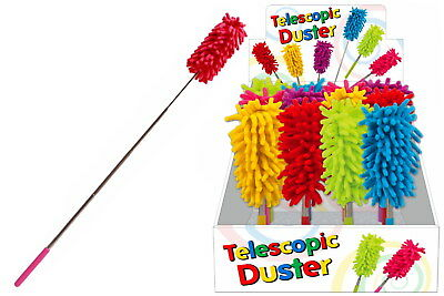 NEW Telescopic Duster   Extendable Microfiber Dusting Brush Gifts   ihartTOYS