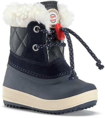Olang Ape Kids Boys Girls Fleece Lined Warm Snow Ski Ankle Boots Arctic Shoes
