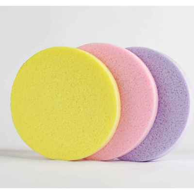 12pcs Compressed Facial Cleaning Wash Puff Sponge Stick Face Cleansing Pad soft