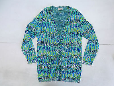 Missoni Vintage Sweater Cardigan Cotone