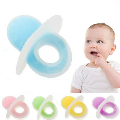 Silicone Baby Teether Toy Chew Teething Nursing Safe Chewing Feeding Toys