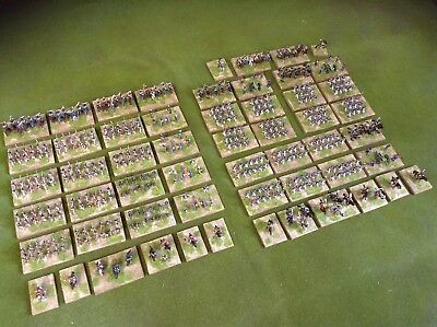 Painted 15mm Peninsular Napoleonic French & British armies based for Blucher