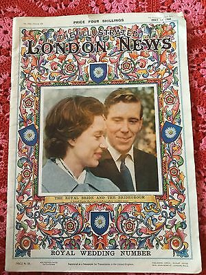 Illustrated London News - Royal Margaret & Armstrong Jones Wedding  1960