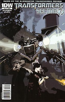 Transformers: Sector 7 Comic 3 Cover A IDW 2010 Barber Chee
