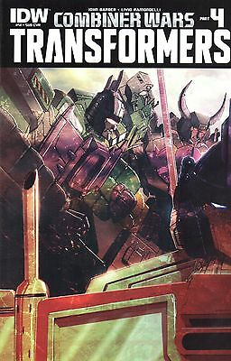 Transformers Comic 41 Subscription Cover IDW 2015 Combiner Wars Part 4 Barber