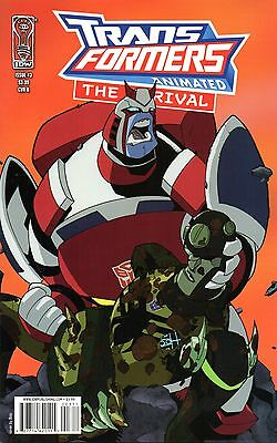 Transformers Animated: The Arrival Comic 3 Cover B IDW 2008 Isenberg Brizuela