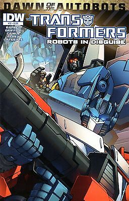 Transformers: Robots In Disguise Comic 32 IDW 2014 Dawn of the Autobots