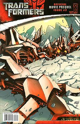 Transformers: Official Movie Prequel Comic 2 Cover A IDW 2007 Furman Ryall