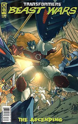 Transformers: Beast Wars: The Ascending Comic 3 Cover B IDW 2007