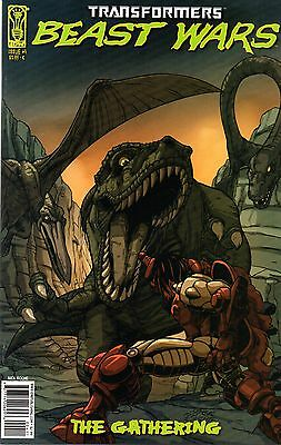 Transformers: Beast Wars: The Gathering Comic 4 Cover C IDW 2006