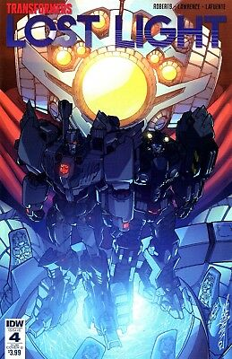 Transformers: Lost Light Comic 4 Sub Cover B IDW 2017 Roberts Lawrence Lafuente
