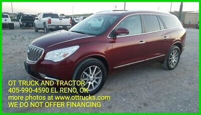 Buick Enclave Leather 2017 Buick Enclave SUV Midsize V-6 3.6L Automatic FWD