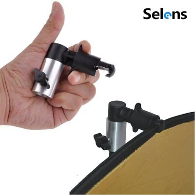Selens Light Stand Clamp Clip Holder for Photo Studio Reflector Disc Background