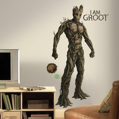 RoomMates RMK2789GM Guardians of the Galaxy Groot Peel and Stick Giant Wall...