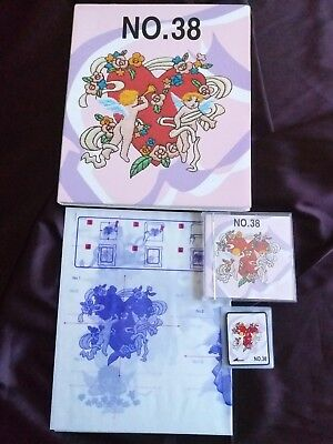 Brother Embroidery Card No 38 Valentine for Brother embroidery machines Rare