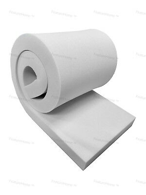 """UPHOLSTERY FOAM SHEETS CUSHIONS PIECES 60/"""" X 20/"""" ANY THICKNESS"""