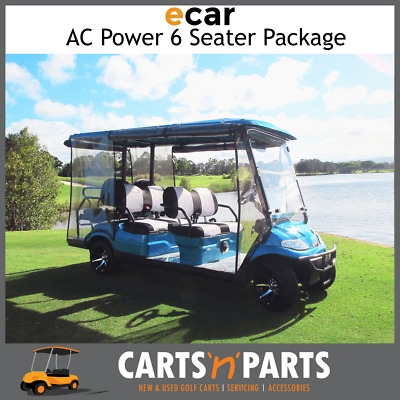 ECAR 2018 6 Seater AC Power Full Deluxe Package