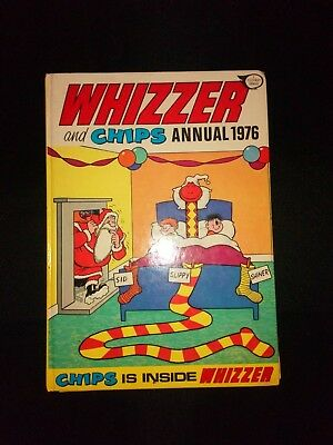 Whizzer And Chips 1976 Vintage Comic Book Annual