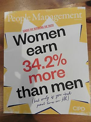 *new* People Management Hr Magazine Feb 2017 Gender Pay Intorverts Graduates