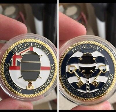 Royal Navy challenge coin