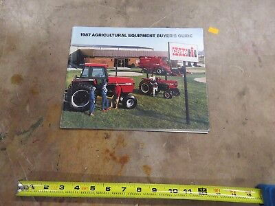Vintage Caseih 1987 buyer guide brochure