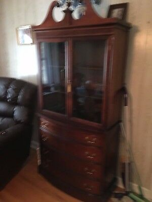 Duncan Phyfe China Cabinet