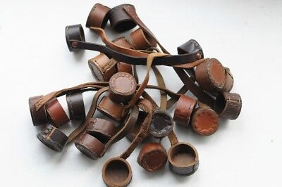 Genuine Leather Mosin-Nagant 91/30 SVT-40 PU Sniper Scope Lens Caps Lens Covers