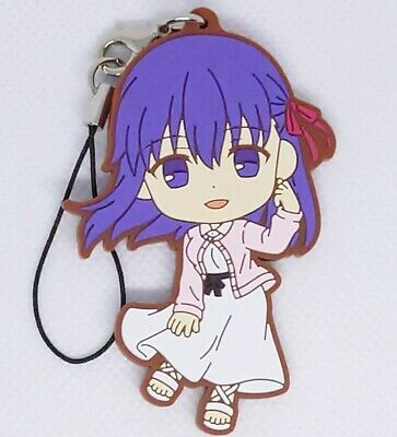 Fate Stay Night × Lawson Karaage-kun Sakura Matou Limited Rubber Mascot Strap