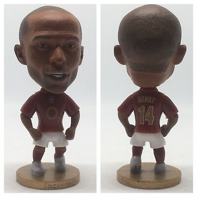 Thierry Henry Classic Action Figure Soccer Football Arsenal Legend Souvenir Gift