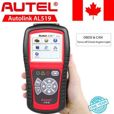 AUTEL AL519 OBDII EOBD Diagnostic Tool Car Scanner Code Reader TFT Color Display