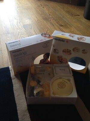Medela Swing Single Electric Breast Pump In Excellent Condition still in box