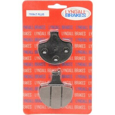 Lyndall Racing Z Plus Brake Pads Front Harley Davidson Select Models 1984-1999