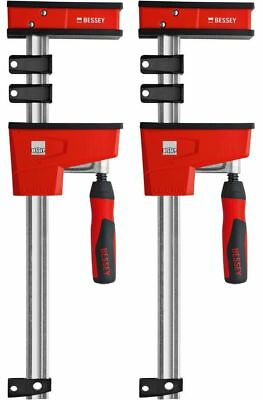 """BESSEY KRE3550 PAIR 50"""" K Body REVO Parallel Bar Clamp Now With Hex Key Clamping"""
