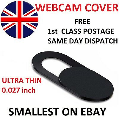 Webcam cover Thin 0.027in Camera Sticker Laptop Mobile Tablet SMALLEST ON EBAY