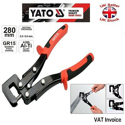Yato Wallboard PROFIL STUD CRIMPING Tool Drywall SECTION SETTING PLIERS YT-51311