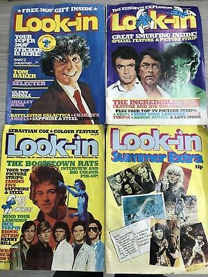 Look-In Magazines x 4 Editions