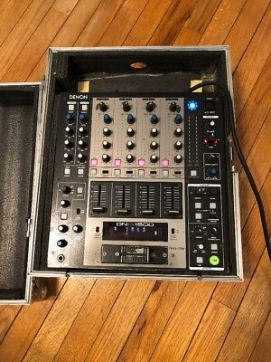 Denon DN-X1500 4 Channel  Mixer With TVD USA Case