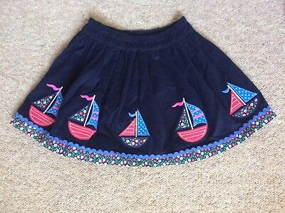 Jojo Maman Bebe Skirt 18-24 Months With Boats On BNWOT RRP £18.99