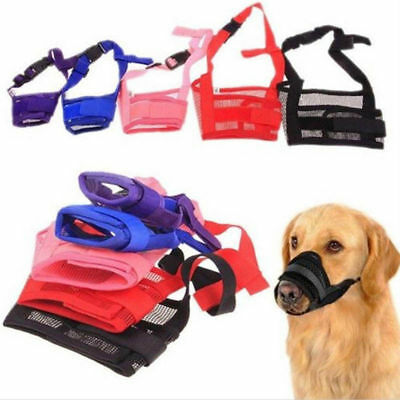 Puppy High Quality Stop Chewing Muzzle Safety Soft Adjustable Pet Dog Mouth Mask