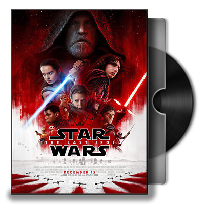 Star Wars: Episode VIII - The Last Jedi (DVD,2017) - New!