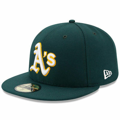 New Era MLB Oakland Athletics Authentic Collection On-Field 59FIFTY Hat Cap 43874442369e