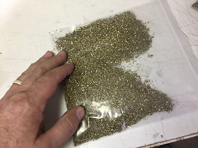 4 lb. Fine Brass Shavings, scrap, Turnings, Orgone Art, casting Free Ship