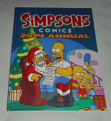 Simpsons Comics 2014 Annual: The Simpsons hardcover book