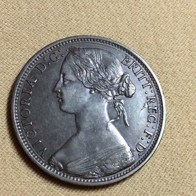 1866 Great Britain Penny