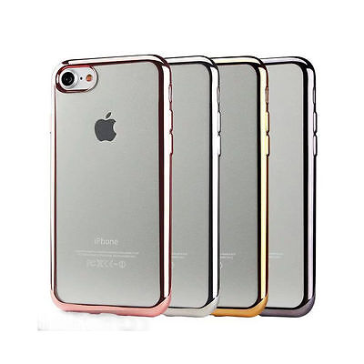 Apple iPhone Case Transparent Crystal Clear Gel case Soft Cover FOR 6S,7,8,XS XR